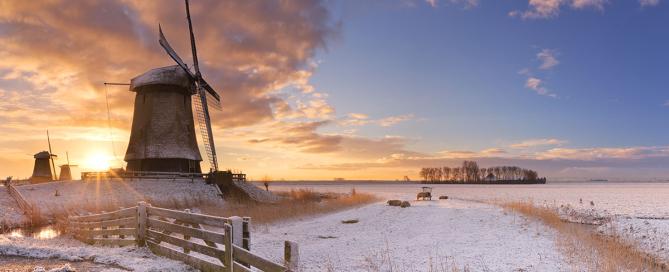 Winterweer Noord-Nederland
